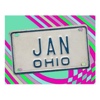 JAN OHIO POSTCARDS