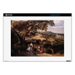 Jan Siberechts- A Pastoral Landscape Decals For Laptops