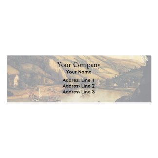 Jan Siberechts- An Extensive With Drovers Cattle Business Card Templates