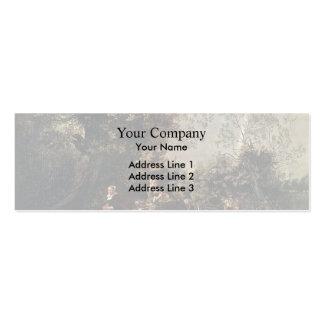 Jan Siberechts- Crossing a Creek Business Card Templates