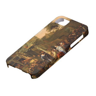 Jan Steen- A Village Wedding iPhone 5 Cases