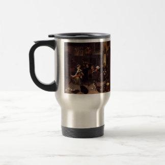 Jan Steen- Dissolute Household Mugs