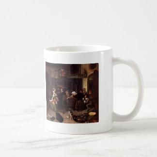 Jan Steen- Dissolute Household Mug
