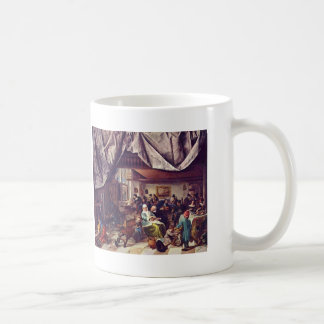 Jan Steen- Life of Man Coffee Mugs