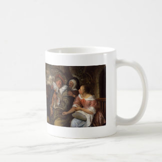 Jan Steen- Merry Threesom Coffee Mug