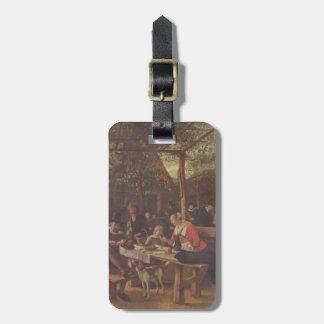 Jan Steen- Pubgarden Bag Tag