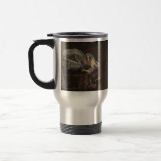 Jan Steen- Sick woman Coffee Mugs