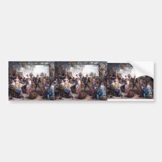 Jan Steen- The Dancing Couple Bumper Sticker