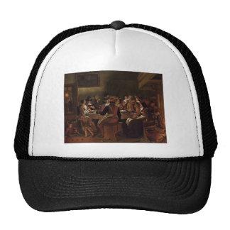 Jan Steen- Twelfth Night Mesh Hats