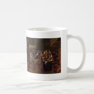Jan Steen- Twelfth Night Coffee Mugs