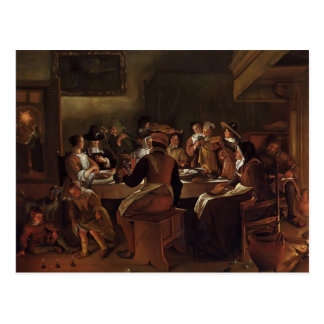 Jan Steen- Twelfth Night Post Cards