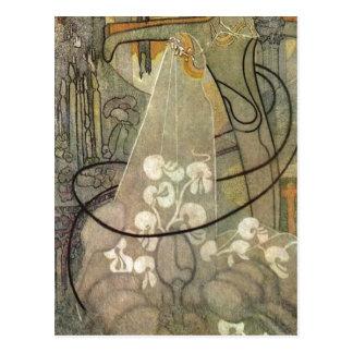 Jan Thorn-Prikker: Die Braut, 18921893 Oil on canv Postcards