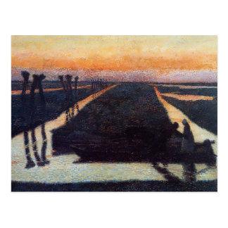 Jan Toorop- Broek in Waterland Postcards