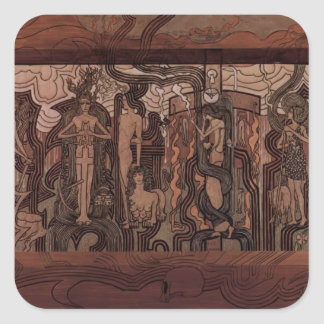 Jan Toorop- Song of the Times Stickers