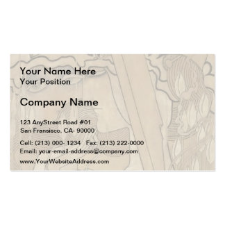 Jan Toorop- The Desire and the Satisfaction Business Card Templates