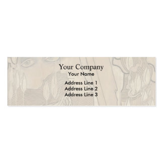 Jan Toorop- The Desire and the Satisfaction Business Card Template