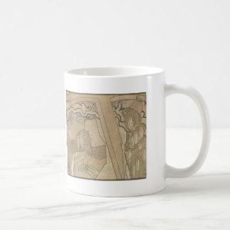 Jan Toorop- The Desire and the Satisfaction Mugs
