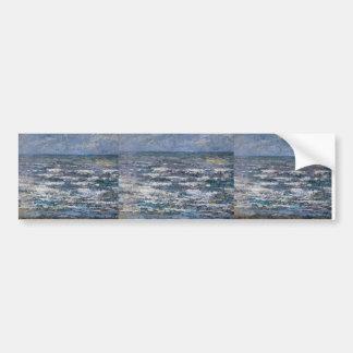 Jan Toorop- The Sea at Katwijk Bumper Sticker