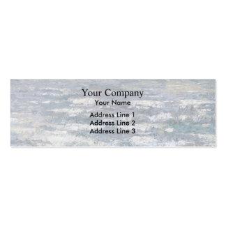 Jan Toorop- The Sea at Katwijk Business Card Template