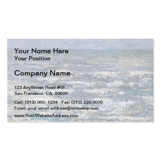 Jan Toorop- The Sea at Katwijk Business Card Templates