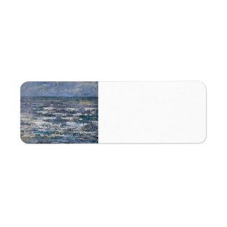 Jan Toorop- The Sea at Katwijk Labels