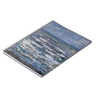 Jan Toorop- The Sea at Katwijk Notebooks