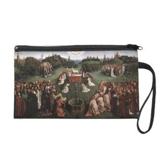 Jan van Eyck- Adoration of the Lamb Wristlet Purses