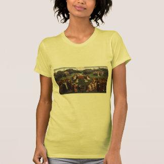 Jan van Eyck- Adoration of the Lamb T Shirts