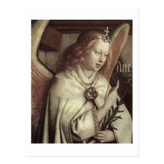 Jan van Eyck Angel, Genter Altar Fine Vintage Postcard