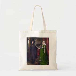 JAN VAN EYCK- Arnolfini Portrait 1434 Tote Bag