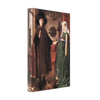 Jan Van Eyck - Arnolfini Wedding Canvas Print