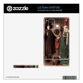 Jan Van Eyck - Arnolfini Wedding Decals For The LG Dare