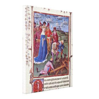 Jan van Eyck - Cross-discovery Canvas Prints