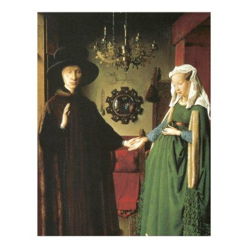 Jan van Eyck Marriage Personalized Letterhead