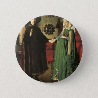 Jan van Eyck Marriage Pinback Button
