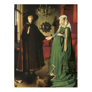Jan van Eyck Marriage Postcard