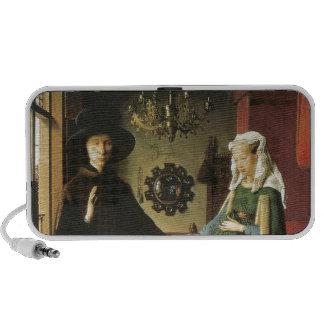 Jan van Eyck Marriage iPhone Speakers