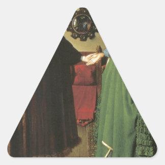 Jan van Eyck Marriage Triangle Sticker