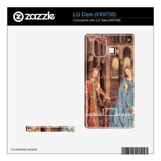 Jan Van Eyck - Marys Proclamation Decal For LG Dare