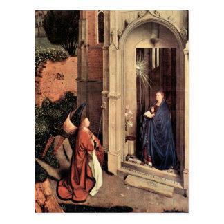 Jan Van Eyck - Proclamation Postcard