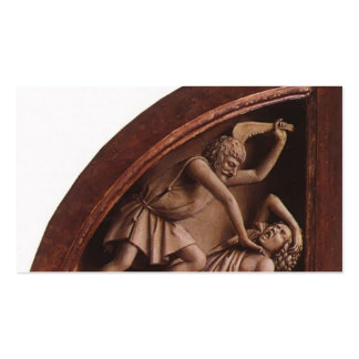 Jan van Eyck- The Ghent Altar (detail) Double-Sided Standard Business Cards (Pack Of 100)