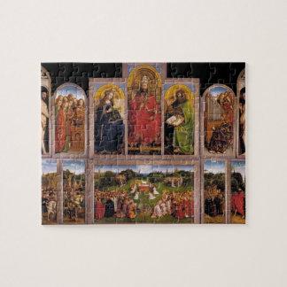 Jan van Eyck- The Ghent Altarpiece Puzzle