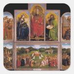 Jan van Eyck- The Ghent Altarpiece Sticker