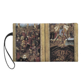 Jan van Eyck- The Last Judgment detail Wristlet