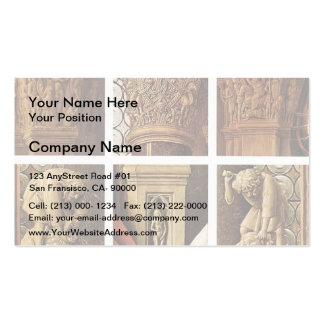 Jan van Eyck- The Madonna of Canon van der Paele Double-Sided Standard Business Cards (Pack Of 100)