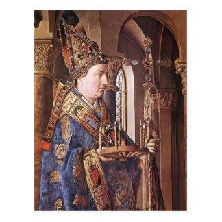 Jan van Eyck- The Madonna of Canon van der Paele Postcard
