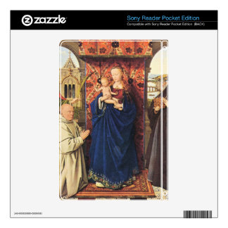 Jan Van Eyck - The Madonna with the Carthusians Decal For Sony Reader