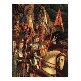 Jan van Eyck- The Soldiers of Christ Postcard