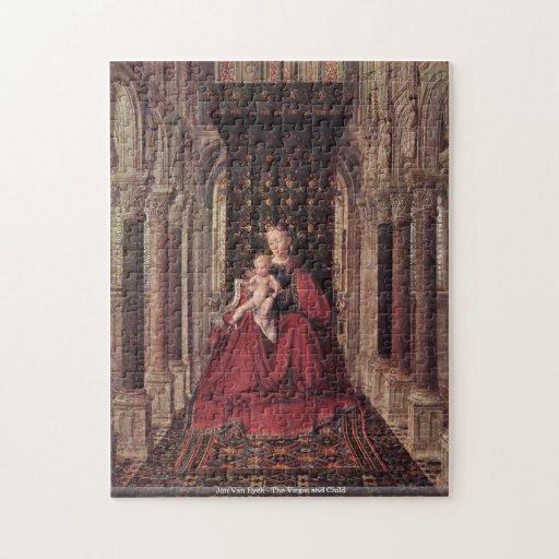 Jan Van Eyck - The Virgin and Child puzzle