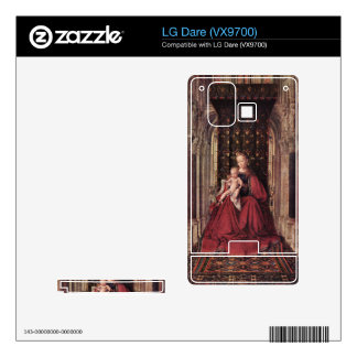 Jan Van Eyck - The Virgin and Child Decals For The LG Dare